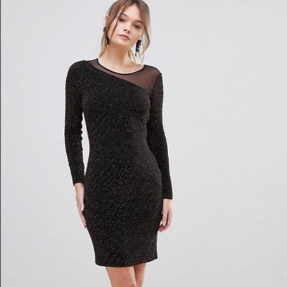 Reiss Dresses & Skirts - HOST PICK! Reiss | Verona Metallic Bodycon Dress